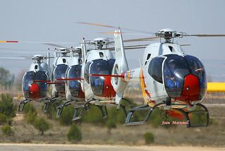 Spain Air Force HE.25-8 78-27 Eurocopter EC-120B Colibri  LEAB 05-2005