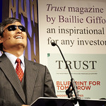 Chen Guangcheng | Blind Chinese dissident Chen Guangcheng speaks about the flawed diplomacy between the US and China © Helen Jones