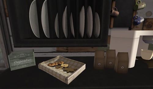 Serenity Style- Summer Camp Kitchen Coffee Bar | by Hidden Gems in Second Life (Interior Designer)
