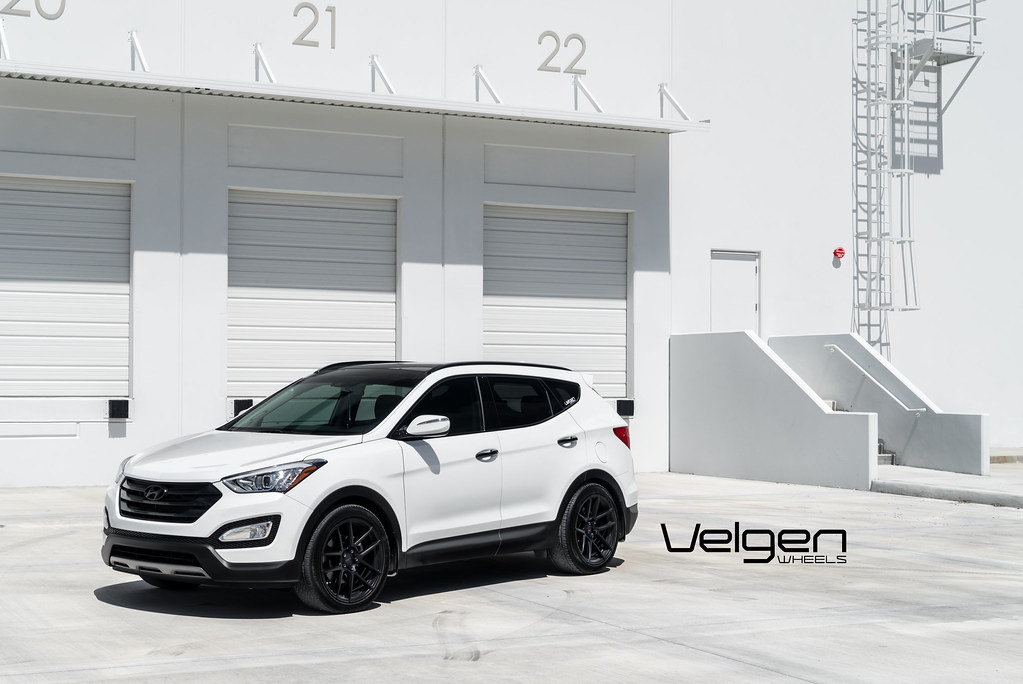 hyundai santa fe sport black hyundai santa fe sport on velgen wheels vmb5 satin black 2    flickr 2017 hyundai santa fe sport black hyundai santa fe sport on velgen wheels