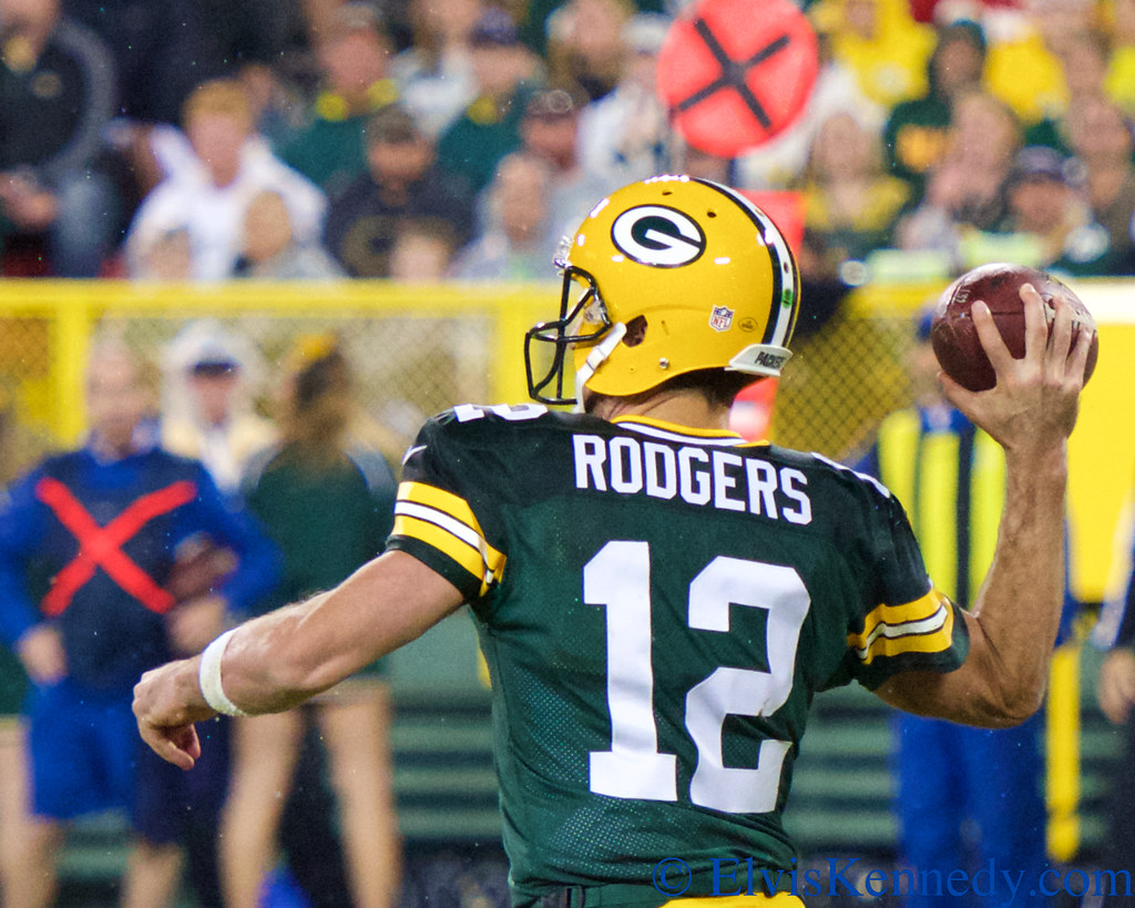 Aaron Rodgers Green Bay Packers Quarterback Aaron Rodgers Flickr