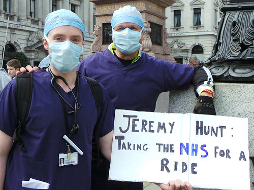Junior Doctors Contract March London - 03 | by garryknight