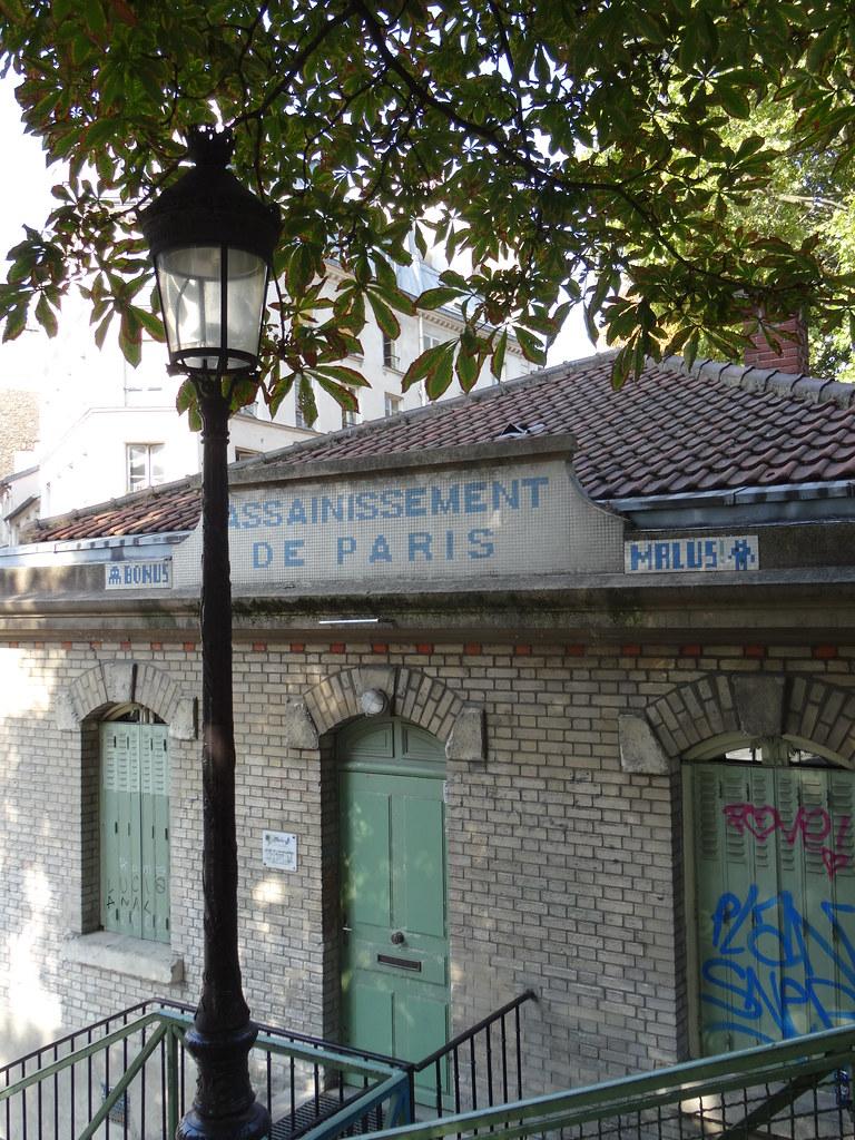 Paris, canal St Martin, assainissement de Paris
