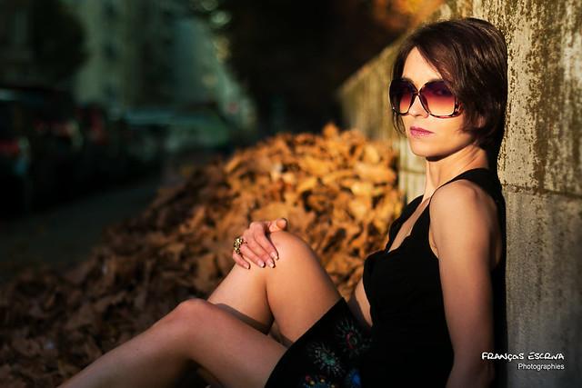 Sunglasses along the Seine