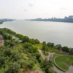Hudson River from GWB