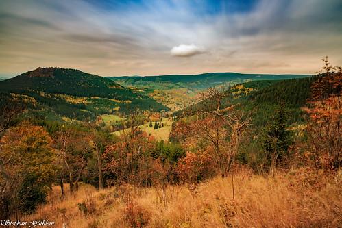 autumn germany deutschland thüringen herbst jahreszeiten thuringia thüringerwald oberschönau thurigianforest