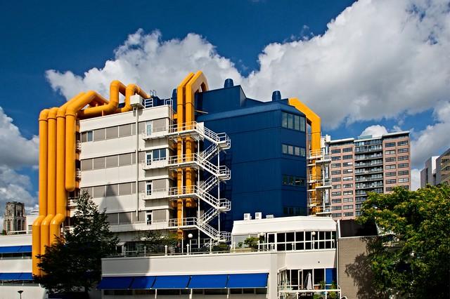 Yellow and Blue / Geel en Blauw ,Rotterdam