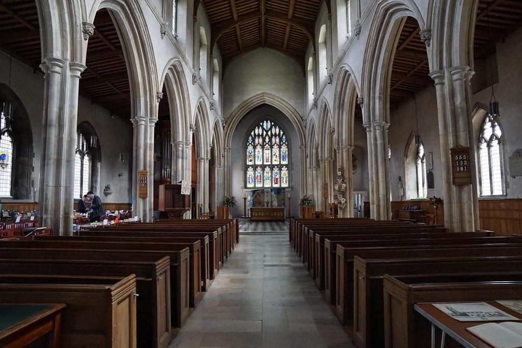 St Giles Cripplegate, City of London