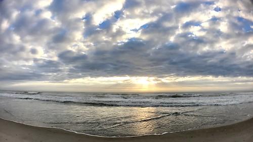 wrightsvillebeachnc atlanticocean sunrise beach iphone7plus olloclip ollocliplens