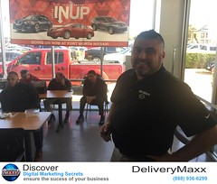 DeliveryMaxx, the leader in Social Media Marketing and Online Reputation Management, takes a day to provide Ft. Worth Nissan the tools to roll out the red carpet treatment for all of their happy customers.
