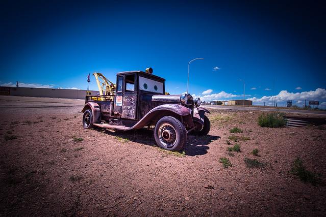 Cars on Route 66 Auto Museum - Santa Rosa - Texas - USA