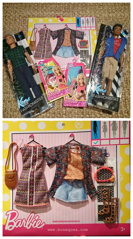 Fashionista Barbie Blisters