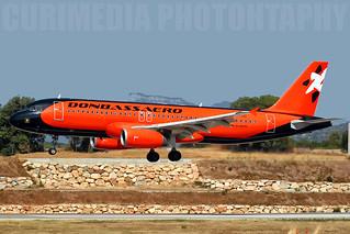 Airbus A320-231 DonbassAero UR-DAB