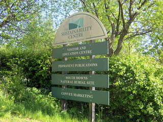 Arrived at our second campsite - The Sustainability Centre on the South Downs Way | by bradbox