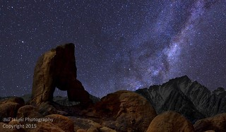 Lady Boot Arch Under The Milky Way