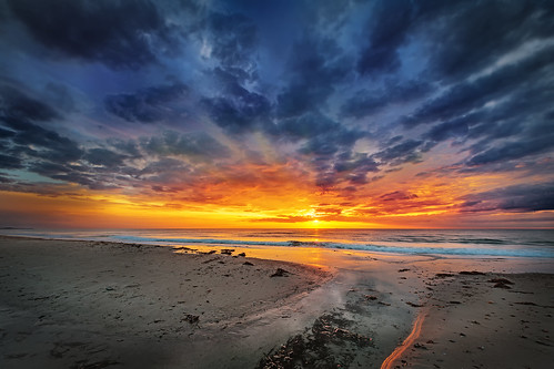 Hirtshals sunset | by magnetismus