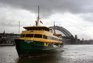 MV Freshwater. Sydney.