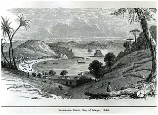 Kororāreka (Russell), 1844   by Archives New Zealand