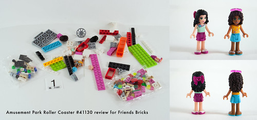 Set Review for Friends Bricks: 41130 Roller Coaster-06 | by fujiia.reviews