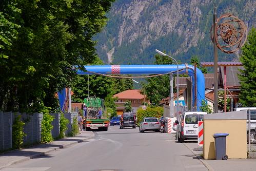 Baustelle Tunnel Oberau | by Oberau-Online
