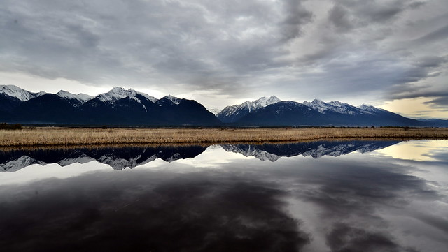 Reflecting On The Rocky Mountains ...