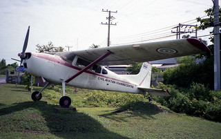 Cessna 185 / U-17A 66-14425-01 CATC Hua Hin Jul95