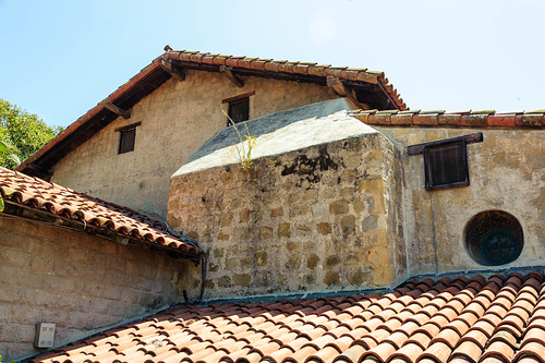 Roofs, Mission Santa Barbara