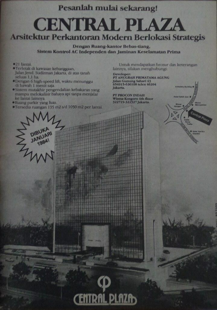 Central Plaza Tempo 23 Juni 1983