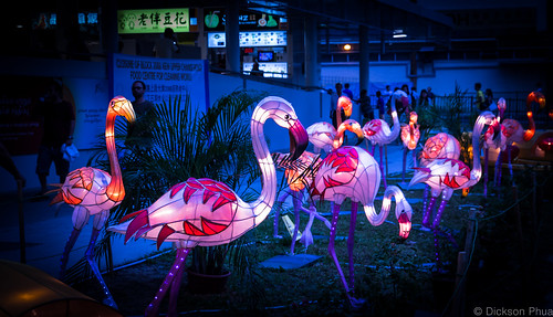 Flamingo figurines at Bedok (Explored) | by gunman47