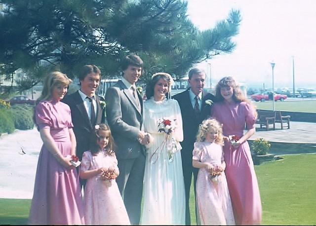 Grahame and joy's wedding 1980 (4)