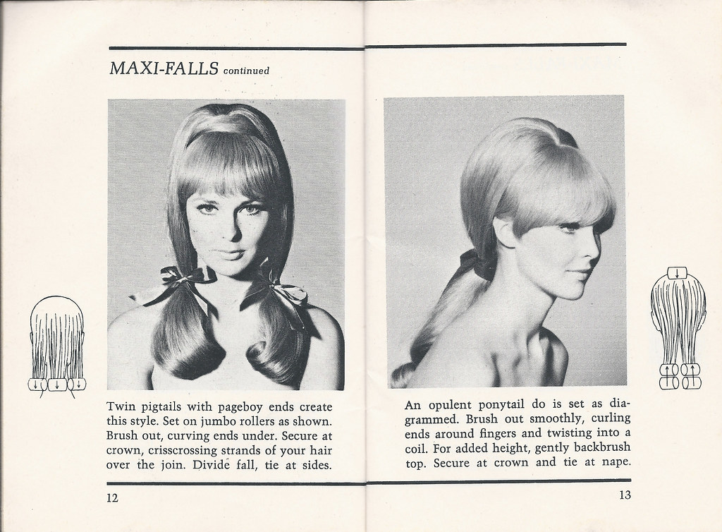 Enjoyable 1960S Hairstyles Maxi Falls Continued Pages 12 And 13 T Flickr Schematic Wiring Diagrams Amerangerunnerswayorg