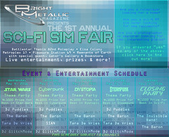 The 1st Annual Bright Metallic Sim Fair!