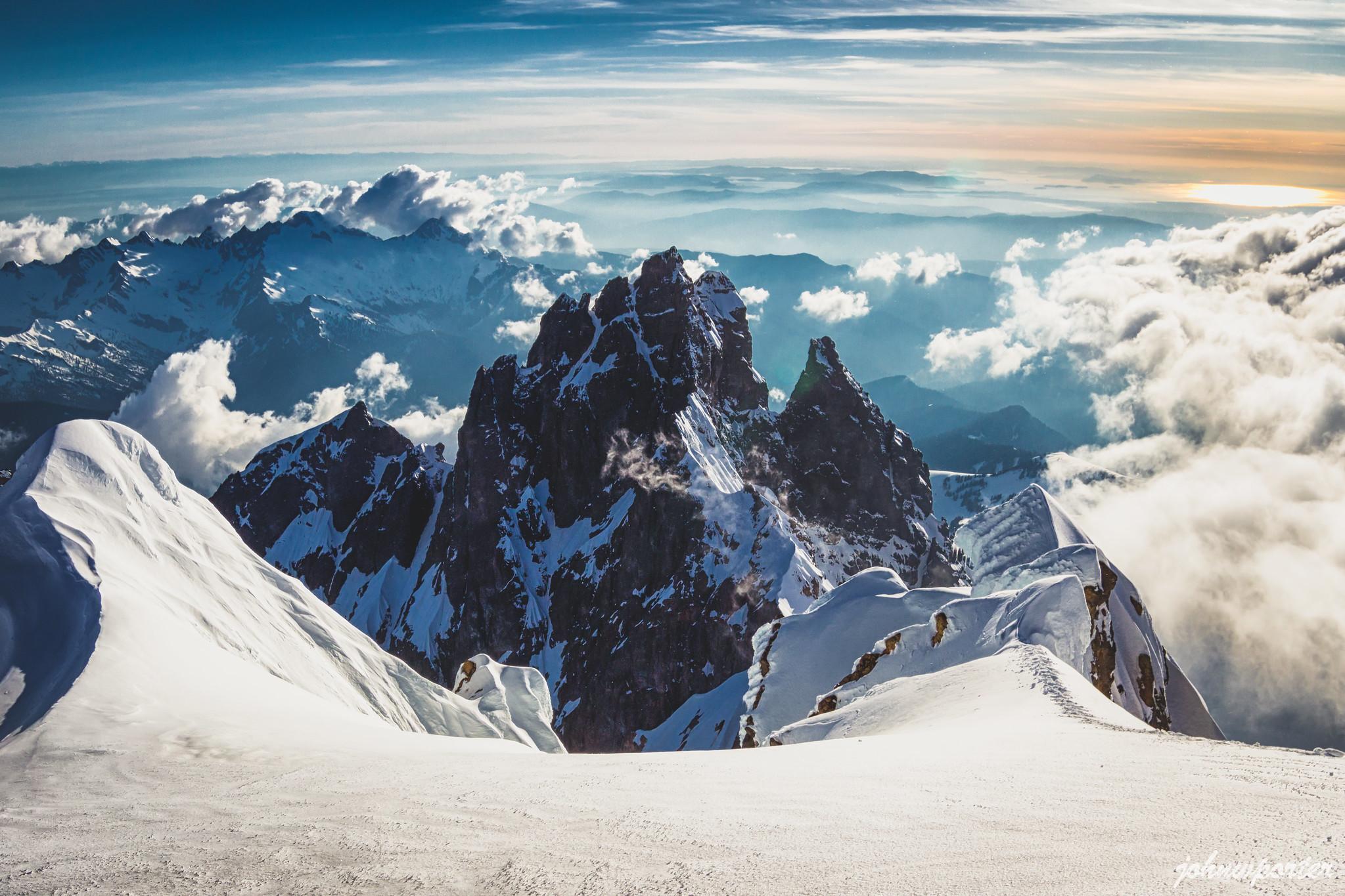 Lincoln Peak from Colfax Peak