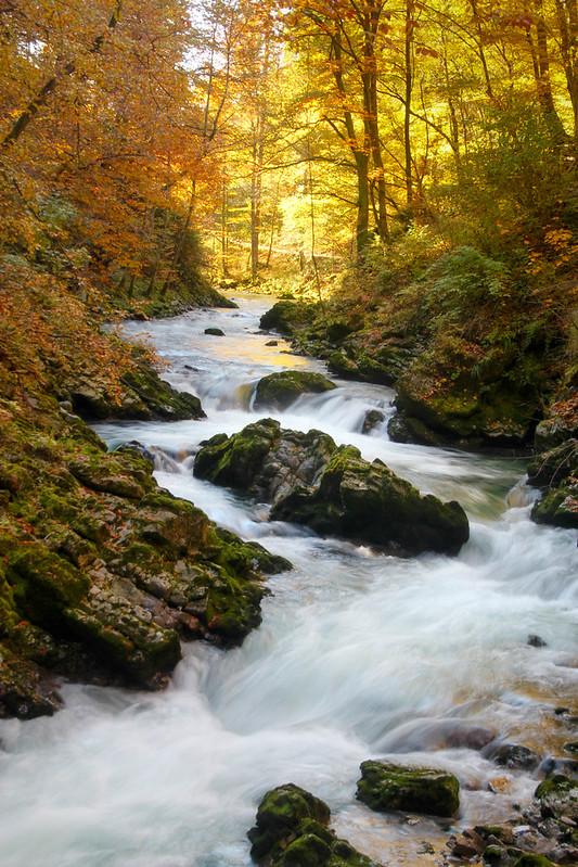 Savica Waterfalls, Bled, Slovenia