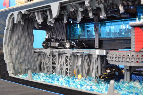 LEGO Dawn of Justice Batcave