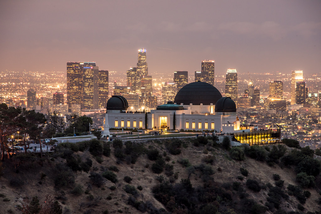 Sunset Amp Dusk The Griffith Observatory Amp Los Angeles Skyli
