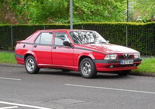 1992 Alfa Romeo 75 TS 2.0 | by Spottedlaurel