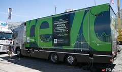 The mobile data center.  Photo by Dimension Data