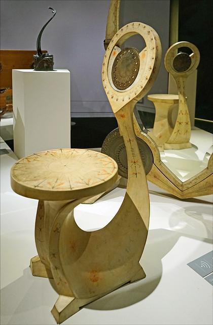 Chaise de Carlo Bugatti (Musée d'Orsay, Paris)