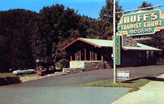 Huff's Tourist Court Gatlinburg TN