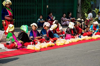 500 Dhutanga Monk Procession-10