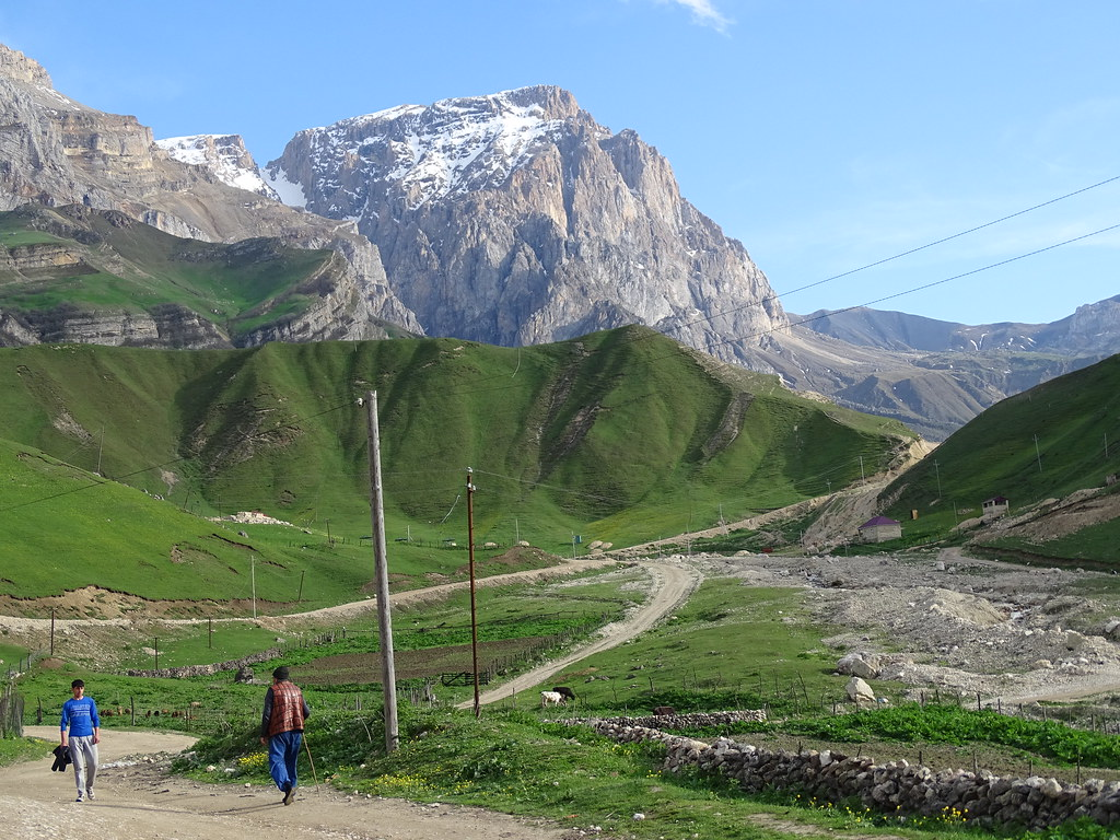 Village of Laza - Caucasus Mountains - Azerbaijan - 01