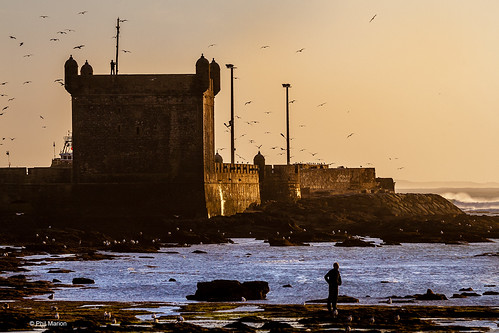 Sunset over Atlantic Ocean and Old Portuguese fort of Essaouira, Morocco | by Phil Marion (176 million views - THANKS)