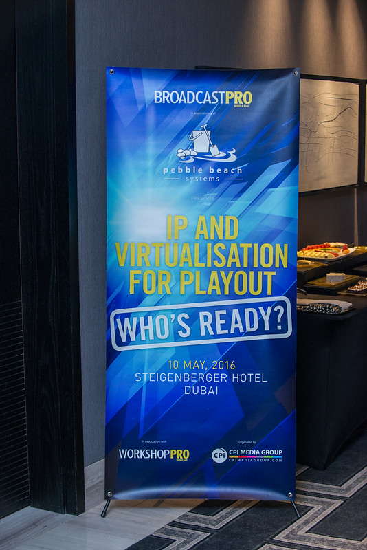 IP and Virtualisation for Playout Roundtable.