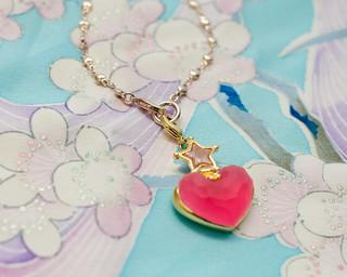 Pink Sugar Pâte de Fruit Bracelet / Bag Charm | by sweetmilktea ♥