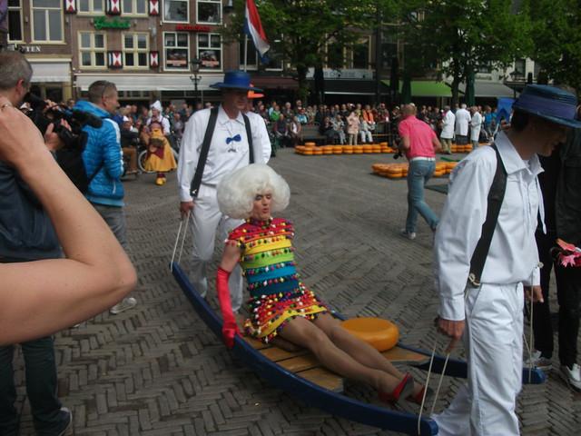 Kaasmarkt Alkmaar 22 mei