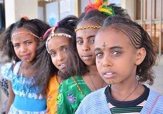 Girls in Adigrat, Ethiopia | by Rod Waddington