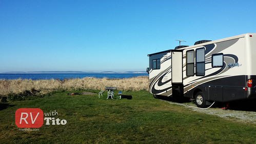 Sat, 03/07/2015 - 15:29 - Camping on the waterfront. Watch video of this road trip bit.ly/rvwt-fort-flagler.