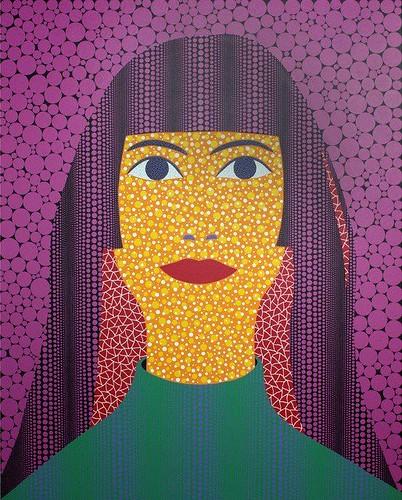 Self Portrait (TWAY) 2010 by Yayoi Kusama / Pop Art