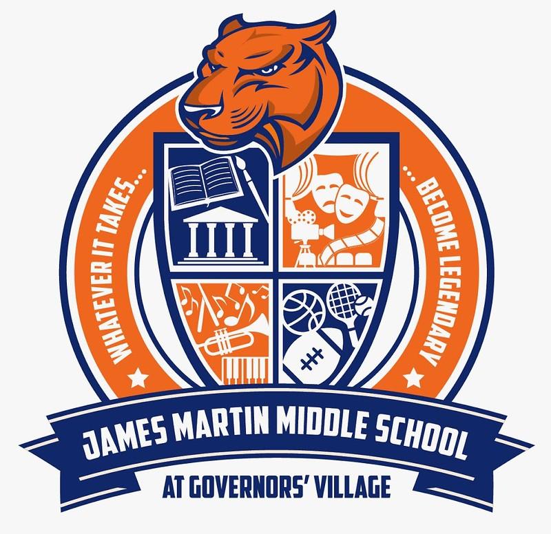 James Martin Middle Crest